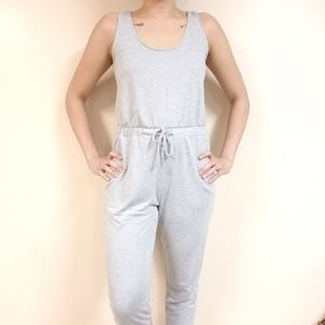 Gray Jumpsuit AMBIANCE